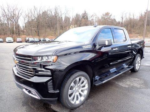 Black 2020 Chevrolet Silverado 1500 High Country Crew Cab 4x4