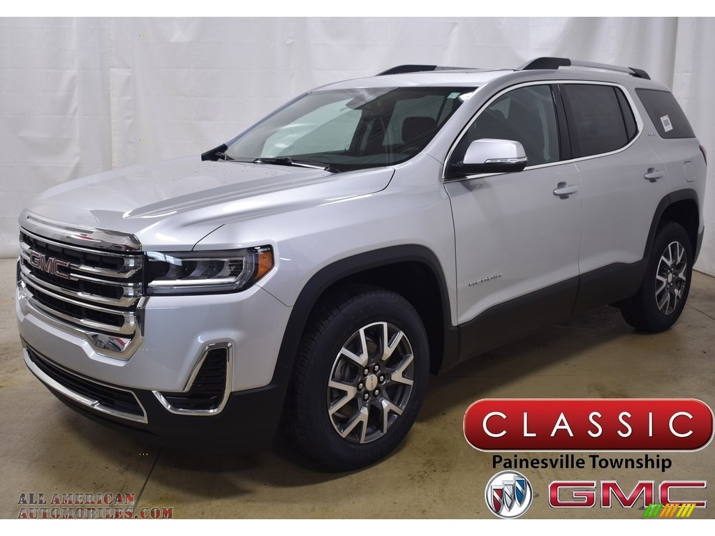 2020 Acadia SLE AWD - Quicksilver Metallic / Jet Black photo #1