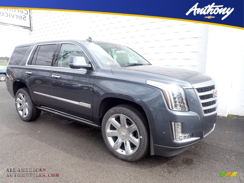 Shadow Metallic / Jet Black Cadillac Escalade Premium Luxury 4WD