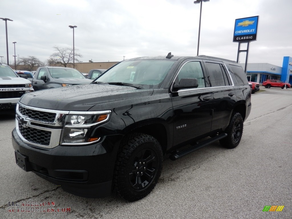 2020 Tahoe LS 4WD - Black / Jet Black photo #1