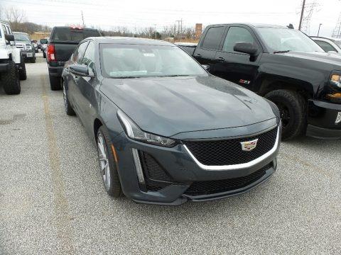 Shadow Metallic 2020 Cadillac CT5 Sport AWD