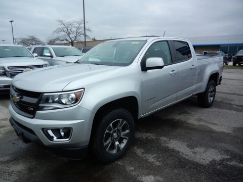 Silver Ice Metallic 2020 Chevrolet Colorado Z71 Crew Cab 4x4