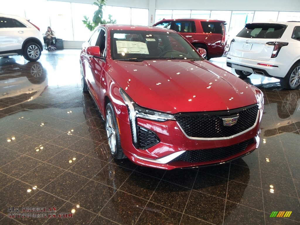2020 CT4 Sport AWD - Red Obsession Tintcoat / Sangria/Jet Black photo #1