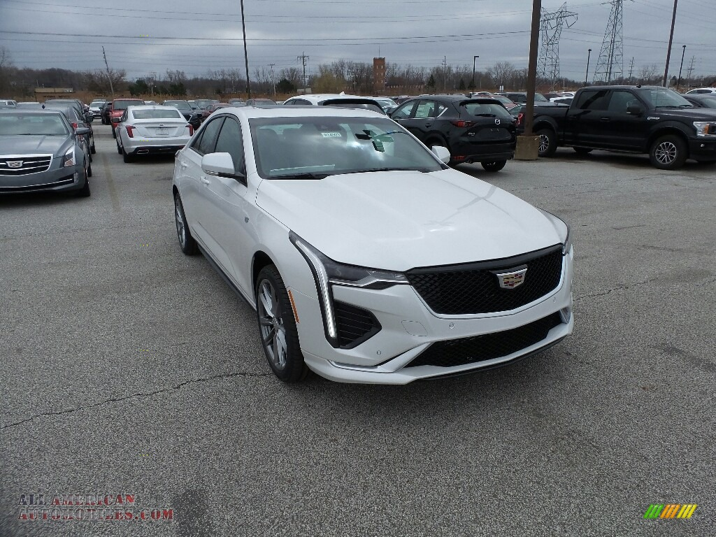 2020 CT4 Sport AWD - Summit White / Sangria/Jet Black photo #1
