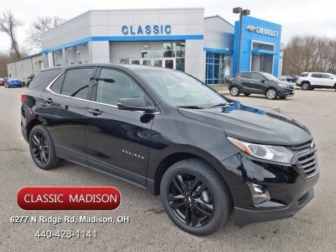 Mosaic Black Metallic 2020 Chevrolet Equinox LT AWD