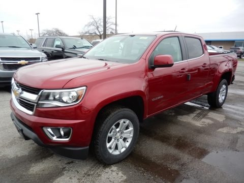 Cajun Red Tintcoat 2020 Chevrolet Colorado LT Crew Cab 4x4