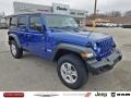 Jeep Wrangler Unlimited Sport 4x4 Ocean Blue Metallic photo #1