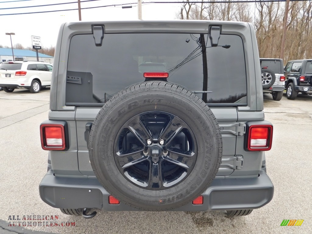 2020 Wrangler Unlimited Sahara 4x4 - Sting-Gray / Black photo #8