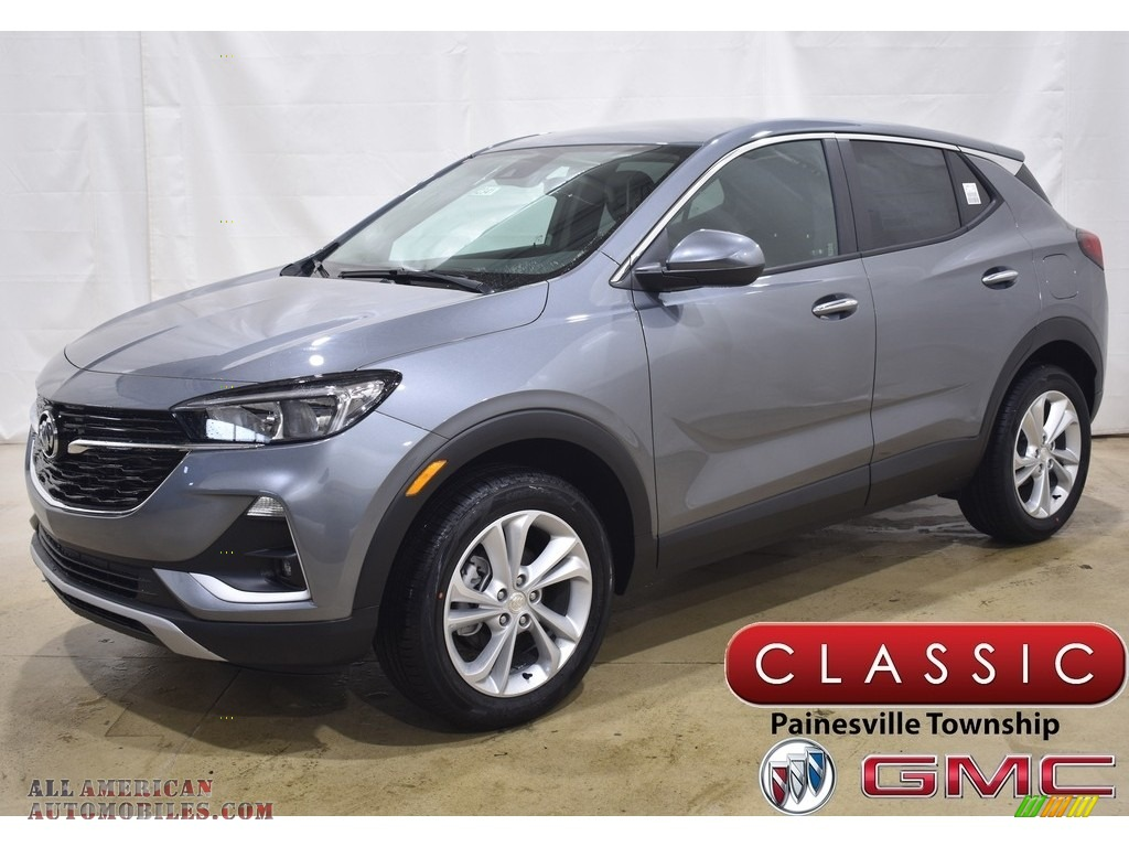 Satin Steel Metallic / Ebony Buick Encore GX Preferred AWD