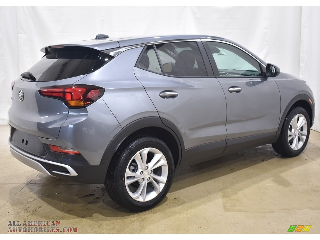 2020 Encore GX Preferred AWD - Satin Steel Metallic / Ebony photo #2