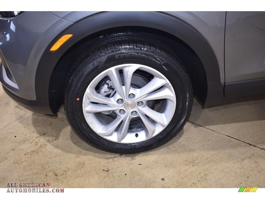 2020 Encore GX Preferred AWD - Satin Steel Metallic / Ebony photo #5
