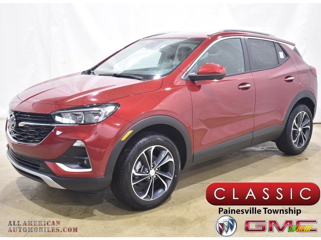 2020 Encore GX Select AWD - Chili Red Metallic / Ebony photo #1