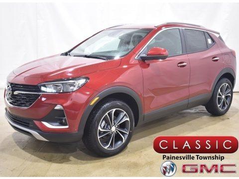Chili Red Metallic 2020 Buick Encore GX Select AWD