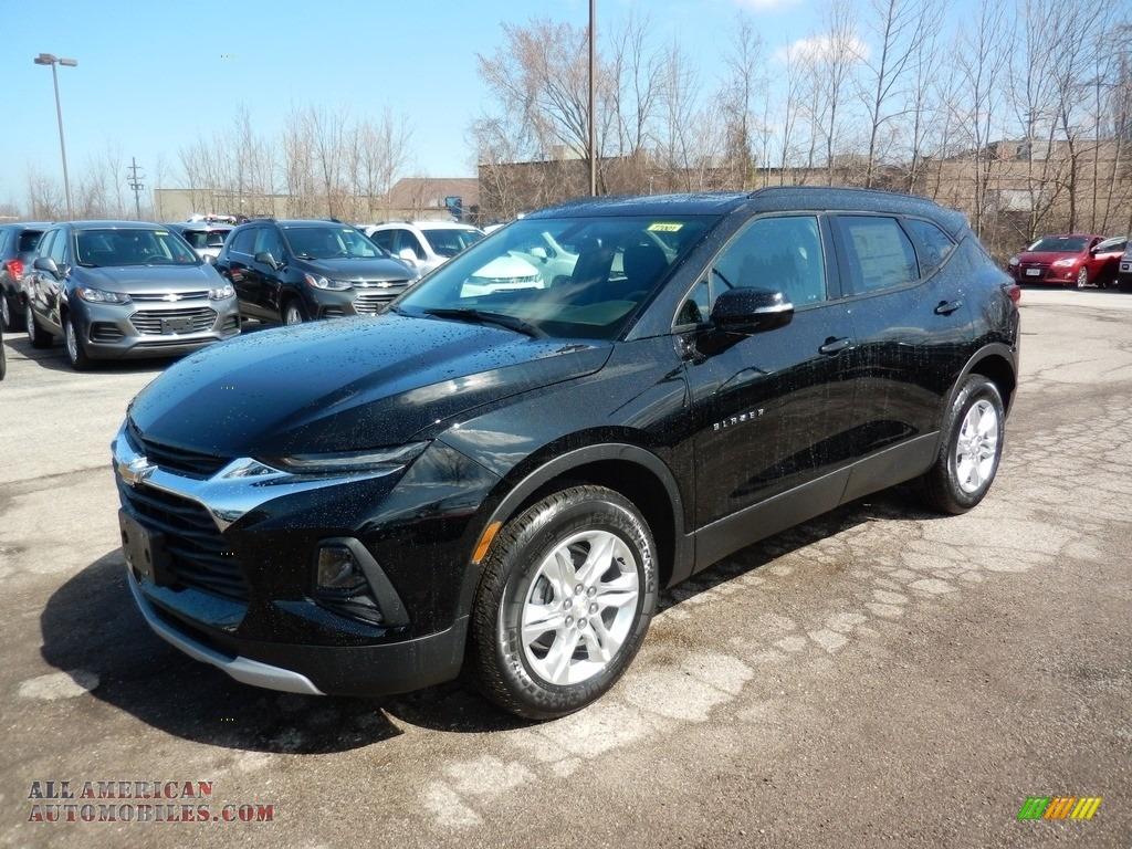 Black / Jet Black Chevrolet Blazer LT AWD