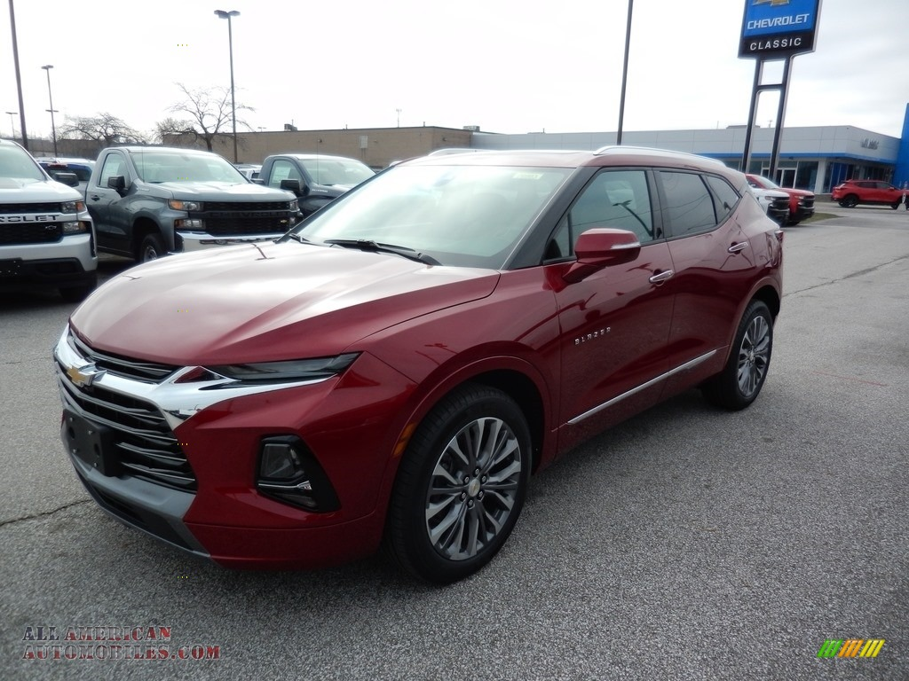 2020 Blazer Premier AWD - Cajun Red Tintcoat / Jet Black/Maple Sugar photo #1