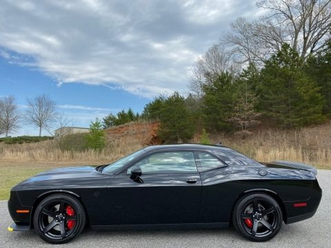 Pitch Black 2020 Dodge Challenger SRT Hellcat Redeye