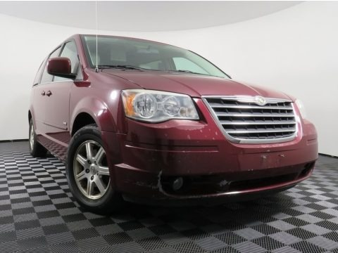 Inferno Red Crystal Pearlcoat 2008 Chrysler Town & Country Touring