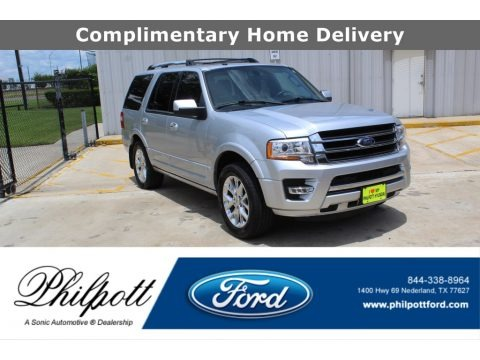 Ingot Silver 2017 Ford Expedition Limited