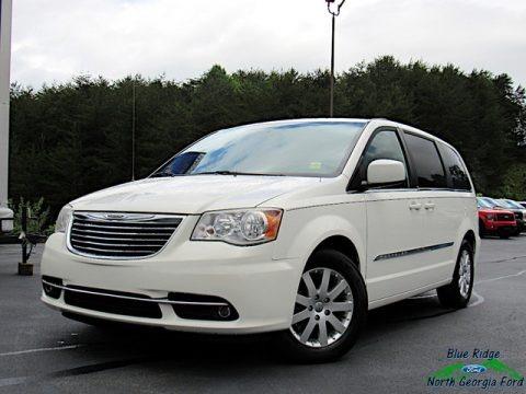 Stone White 2013 Chrysler Town & Country Touring