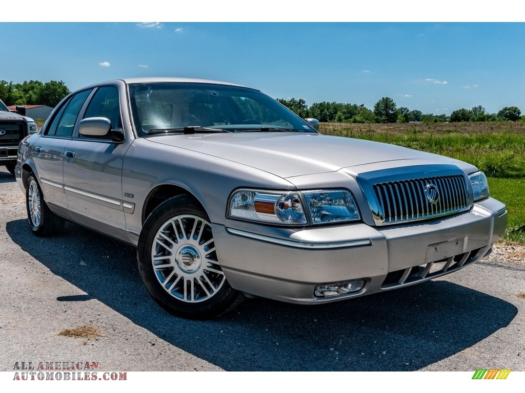 2010 Grand Marquis LS Ultimate Edition - Silver Birch Metallic / Light Camel photo #1