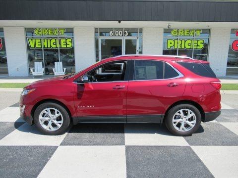 Cajun Red Tintcoat 2020 Chevrolet Equinox Premier
