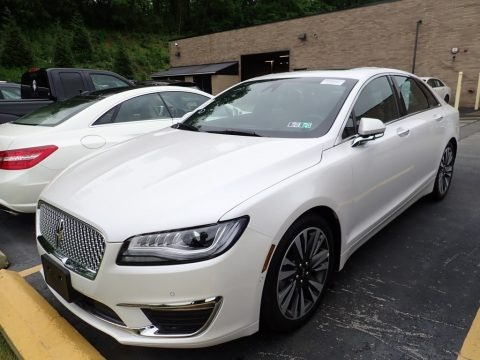 White Platinum 2020 Lincoln MKZ Reserve AWD