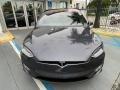Tesla Model X 100D Midnight Silver Metallic photo #6