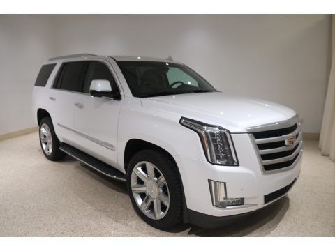 Crystal White Tricoat 2016 Cadillac Escalade Luxury 4WD
