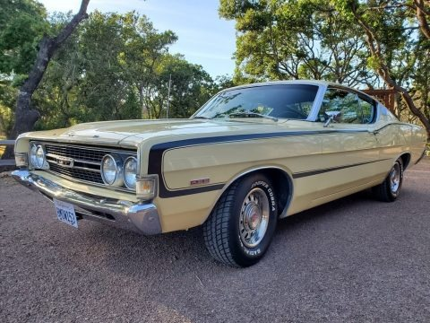 Meadowlark Yellow 1968 Ford Torino GT Fastback