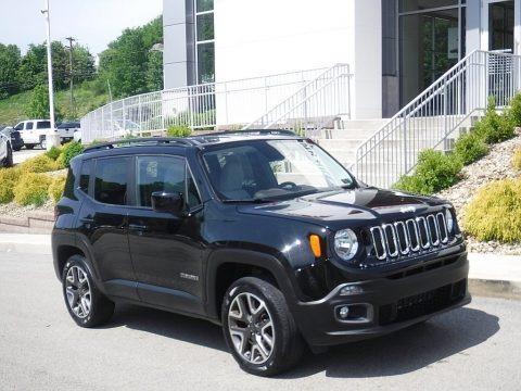 Black 2016 Jeep Renegade Latitude 4x4