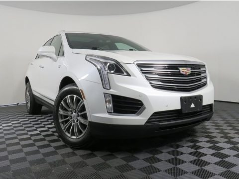 Crystal White Tricoat 2017 Cadillac XT5 Luxury AWD