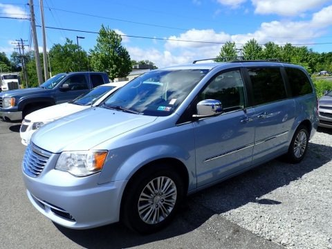 Crystal Blue Pearl 2013 Chrysler Town & Country Touring - L