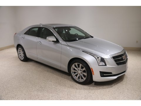 Radiant Silver Metallic 2018 Cadillac ATS Luxury AWD