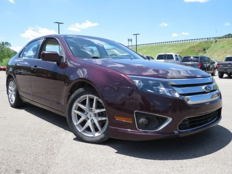 Red Candy Metallic 2011 Ford Fusion SEL