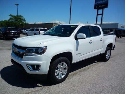 Summit White 2020 Chevrolet Colorado LT Crew Cab 4x4