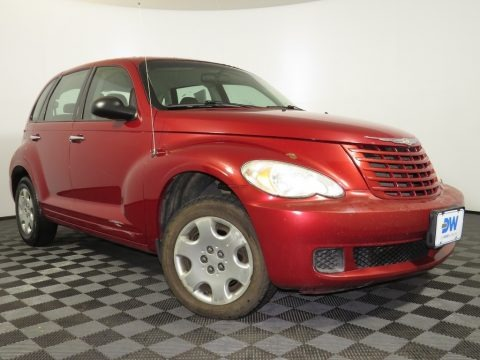 Inferno Red Crystal Pearl 2009 Chrysler PT Cruiser LX