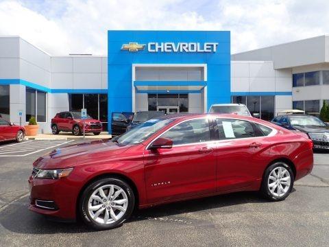 Siren Red Tintcoat 2017 Chevrolet Impala LT