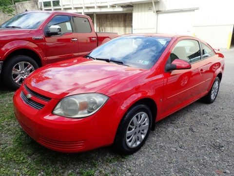 Victory Red 2009 Chevrolet Cobalt LT Coupe