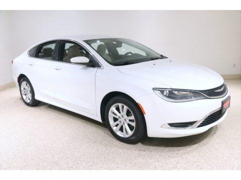 Bright White 2015 Chrysler 200 Limited