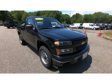 Black 2012 Chevrolet Colorado Work Truck Regular Cab