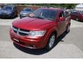 Dodge Journey R/T AWD Inferno Red Crystal Pearl Coat photo #1