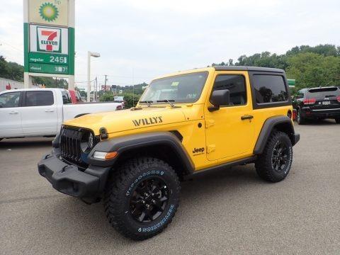 Hellayella 2020 Jeep Wrangler Willys 4x4