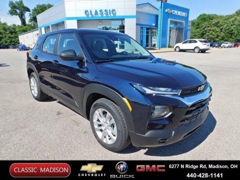 Midnight Blue Metallic 2021 Chevrolet Trailblazer LS