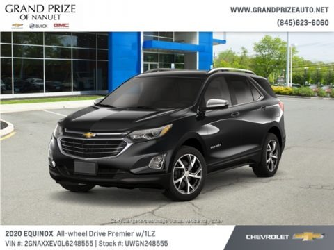 Mosaic Black Metallic 2020 Chevrolet Equinox Premier AWD