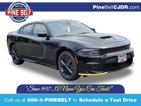 Pitch Black 2020 Dodge Charger GT AWD