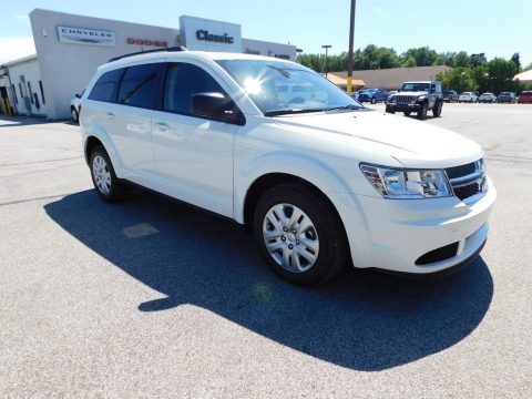 Vice White 2020 Dodge Journey SE Value