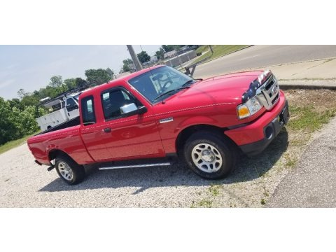 Torch Red 2010 Ford Ranger XLT SuperCab