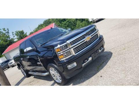 Black 2014 Chevrolet Silverado 1500 High Country Crew Cab 4x4
