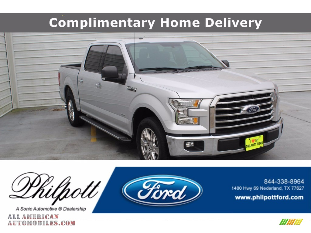 2017 F150 XLT SuperCrew - Ingot Silver / Earth Gray photo #1