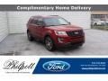 Ford Explorer Sport 4WD Ruby Red photo #1
